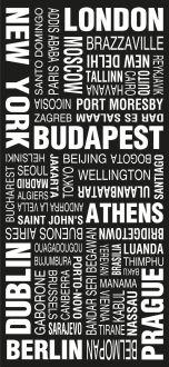 London modernista destination scroll, bus scroll