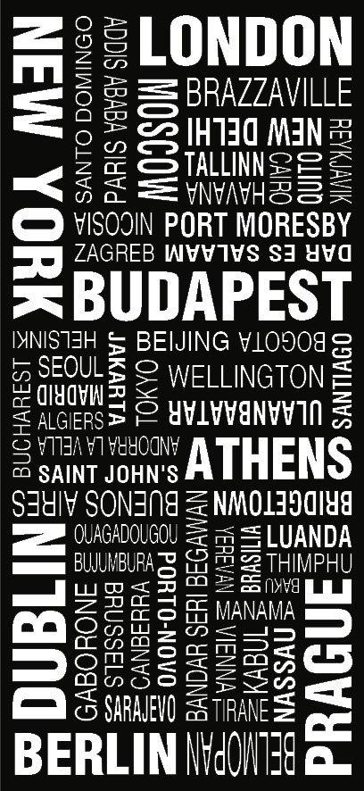 World Cities Modern Tram Scroll Word Art|World Cities Modern Tram Scroll Word Art|World Cities Modern