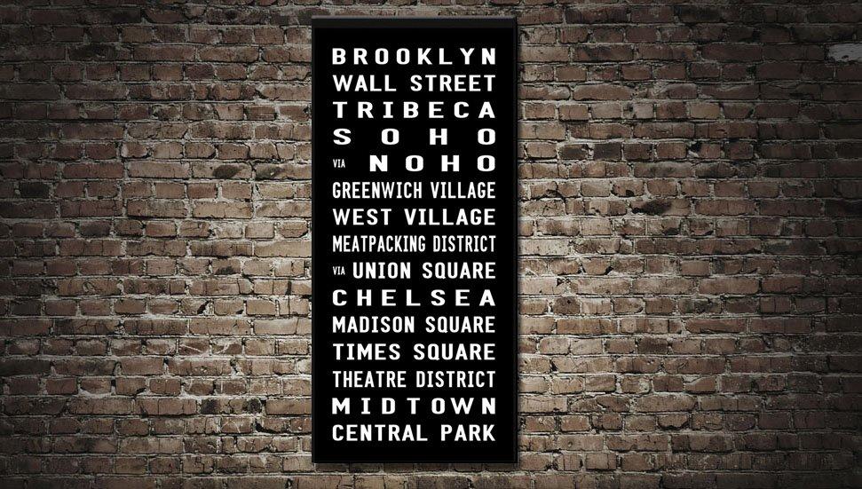brooklyn subway scroll